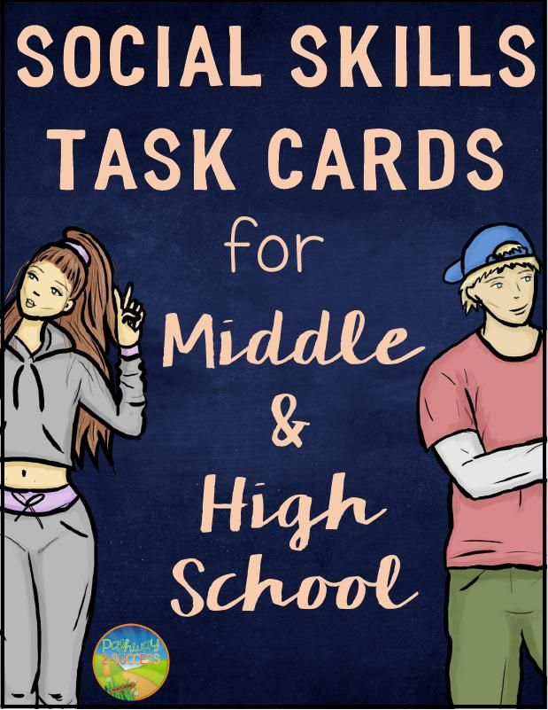 Need to practice social skills with your middle and high schoolers? This is it.