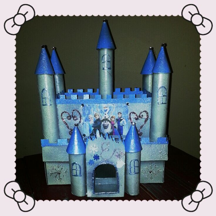 valentine's day castle boxes