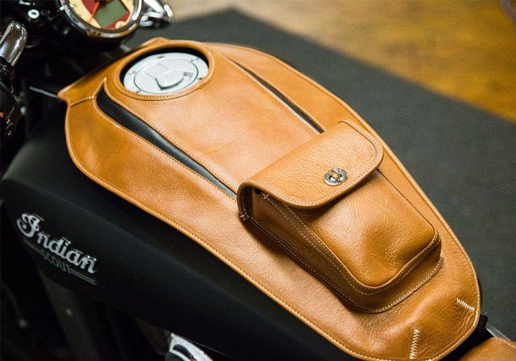 leather tank bag motorcycle - Buscar con Google