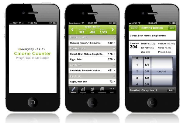 best calorie tracking app iphone