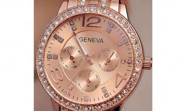 Ceas Geneva, la 59 RON in loc de 218 RON  Vezi mai multe detalii pe Teamdeals.ro: Ceas Geneva, la 59 RON in loc de 218 RON