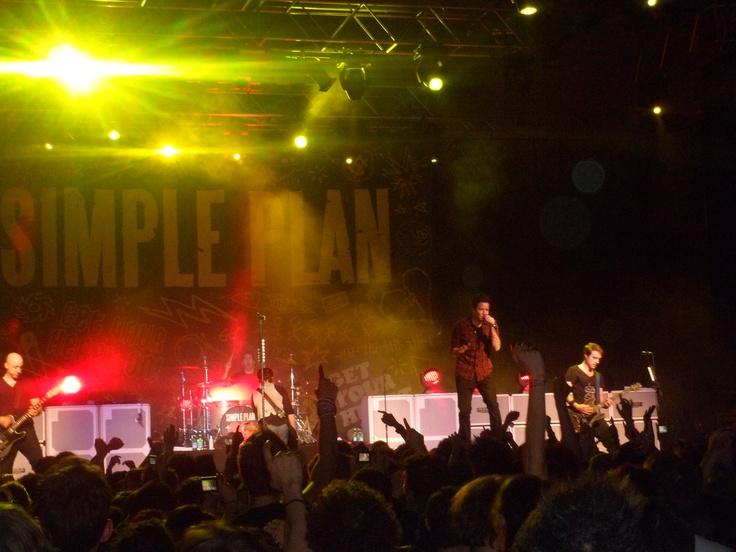 Simple Plan live in Milan