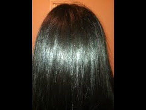Shiny hair -- homemade deep conditioner using coconut milk, honey, olive oil and egg