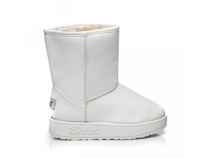 Biele snehule Sofia 066W / D3-L46