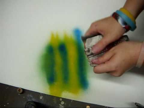 Spray Paint Art How-To #1: Basic Planets