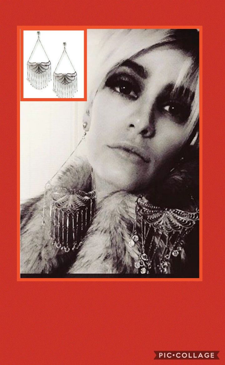 Edie Sedgwick Butterfly earrings by Steve Sasco.