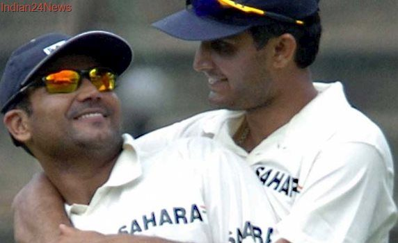 On Ganguly's Birthday, Sehwag Attributes Test Cricket Success To 'Dada'