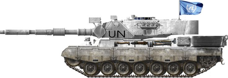 Danish Leo 1A4 UN