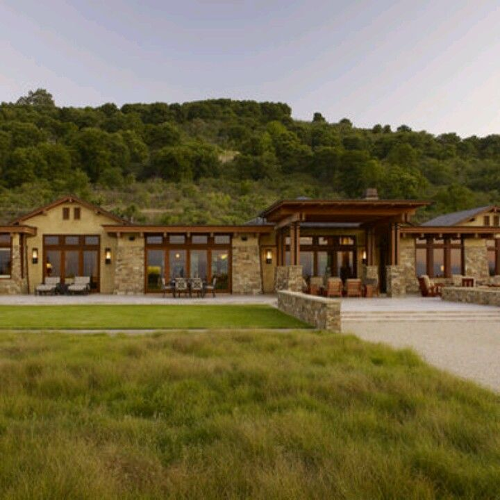Modern rustic ranch house ideas pinterest rustic and for Contemporary ranch plans