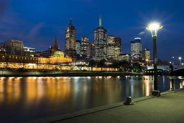Melbourne, Victoria, Australia  Where I grew up,and live <3