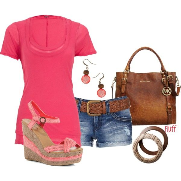 Summer OutfitOutfit Summer, Summer Outfits, Fashionista Trends, Pretty Outfit, Casual Outfits, Cute Outfit, Denim Shorts, Summer Clothes, Summer Clothing