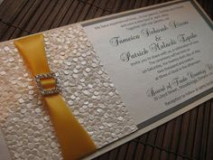 Extravagant Wedding Invitations With Rhinestones Google Search