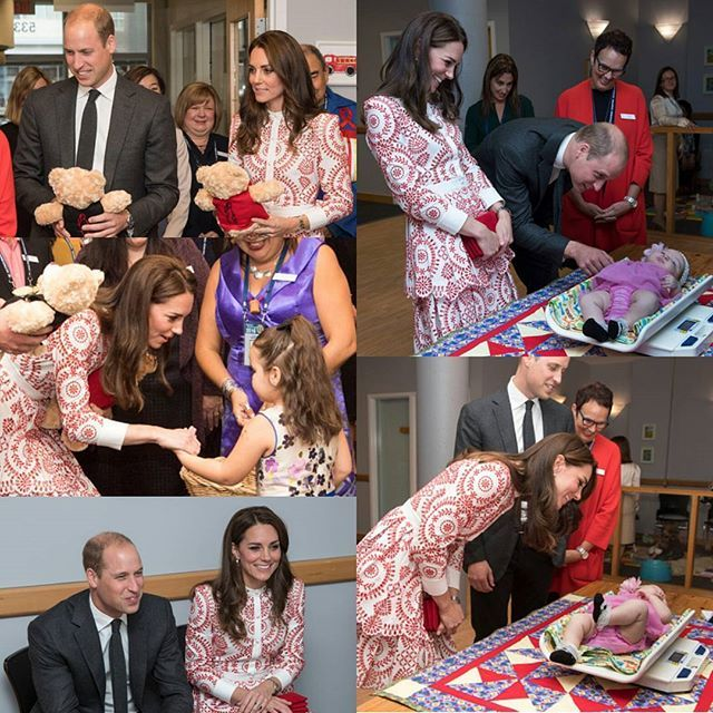 #KateMiddleton and #princeWilliam during a visit to Sheway, a charity that helps vulnerable mothers battling issues such as addiction, during their Royal Tour of Canada on September 25, 2016 in Vancouver GO FOLLOW @familievanoranje @familievanoranje @familievanoranje