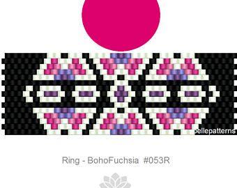peyote ring patternPDF-Download 141R beading pattern