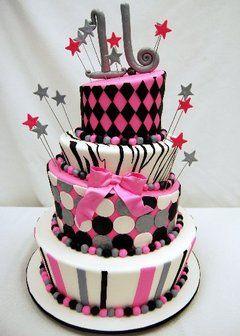 Photo courtesy of Pink Cake Box: Sweet 16 Cakes, Cakes Ideas, 16 Ideas, Birthdays, Awesome Cakes, Parties Ideas, Sweet16, Sweet Sixteen, Birthday Cakes