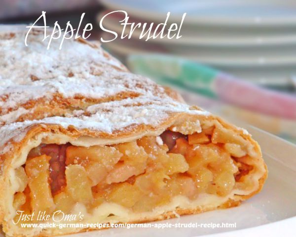 The easy German Apple Strudel recipe, aka Apfelstrudel, is one of the quick easy dessert recipes. It brings the traditional strudel taste to your table without all the work. The secret? Frozen phyllo (filo) pastry!