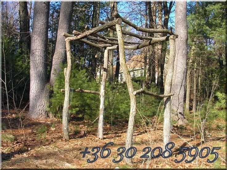Pergola aus Akazienholz