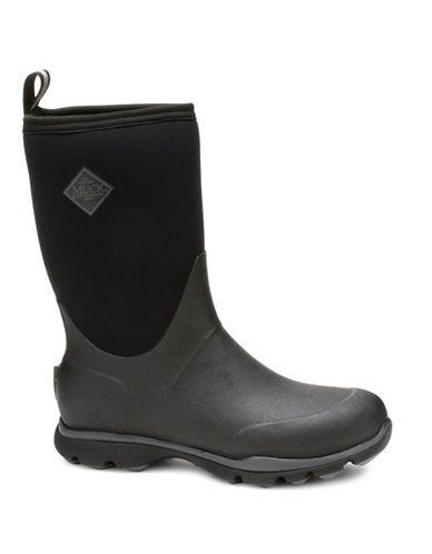 Muck Boots Arctic Excursion Mid- Rain Boots Men's Black 8