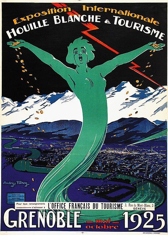 Andry Farcy 1882 1950 Grenoble 1925 Exposition