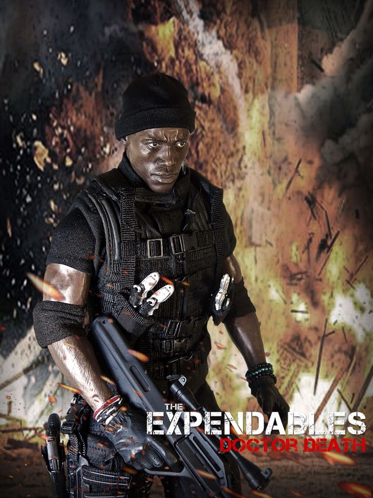 The Expendables: Doctor Death 1/6 Costom Kitbash #Expendables