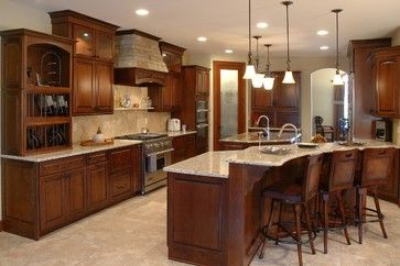Custom Built Home - traditional - Kitchen - Cleveland - Otero Signature Homes