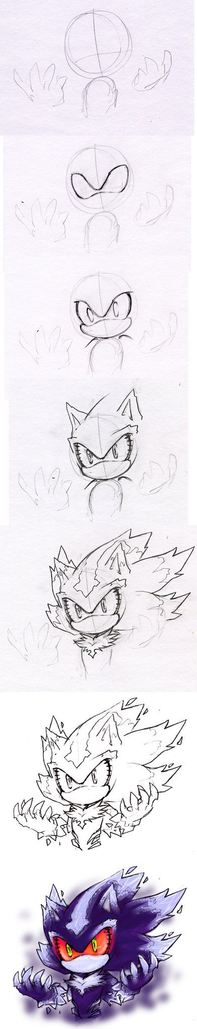 Sonic Tutorial on How-To-Draw-list - DeviantArt