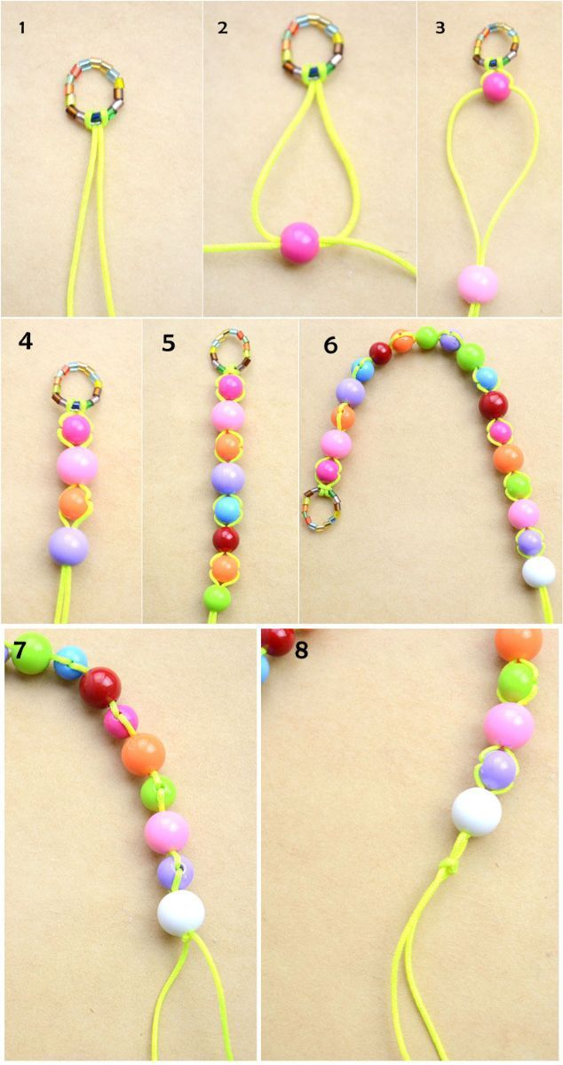 how to make bracelets with beads for beginners
