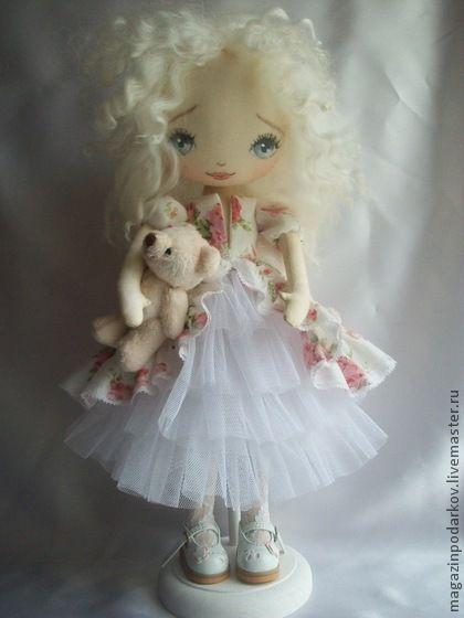 Коллекционные куклы ручной работы. Ярмарка Мастеров - ручная работа Кукла  Симона. Handmade.