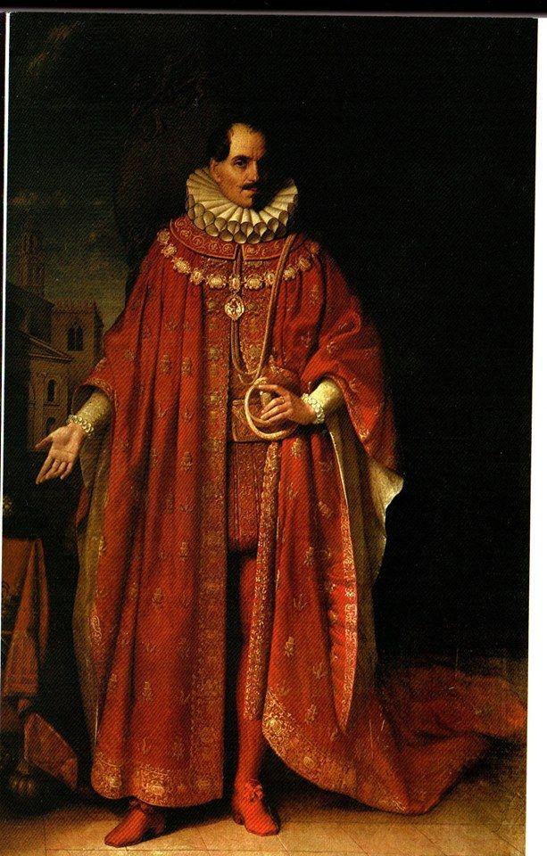 Ferdinando Cavriani con le vesti di Cavaliere del Redentore XVII sec. Collezione Privata