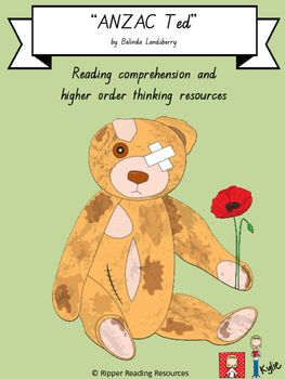 "This is a freebie from my resource to support higher order thinking and reading comprehension using the picture book, ""ANZAC Tec"" by Belinda Landsberry.The freebie is a template that can be used for classroom displays. Older students could write adjectives to describe ANZAC Ted within the template before lightly shading the picture, for classroom display.The complete resource is currently over 60 pages and will be uploaded in the next couple of days, so follow me on TPT so that you are…"