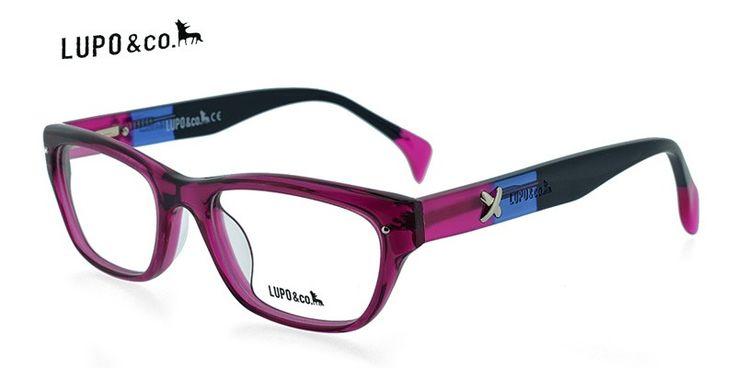 Lupo 5573 Clear Purple Prescription Eyeglasses From $88
