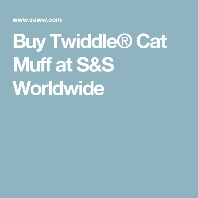 Buy Twiddle® Cat Muff at S&S Worldwide