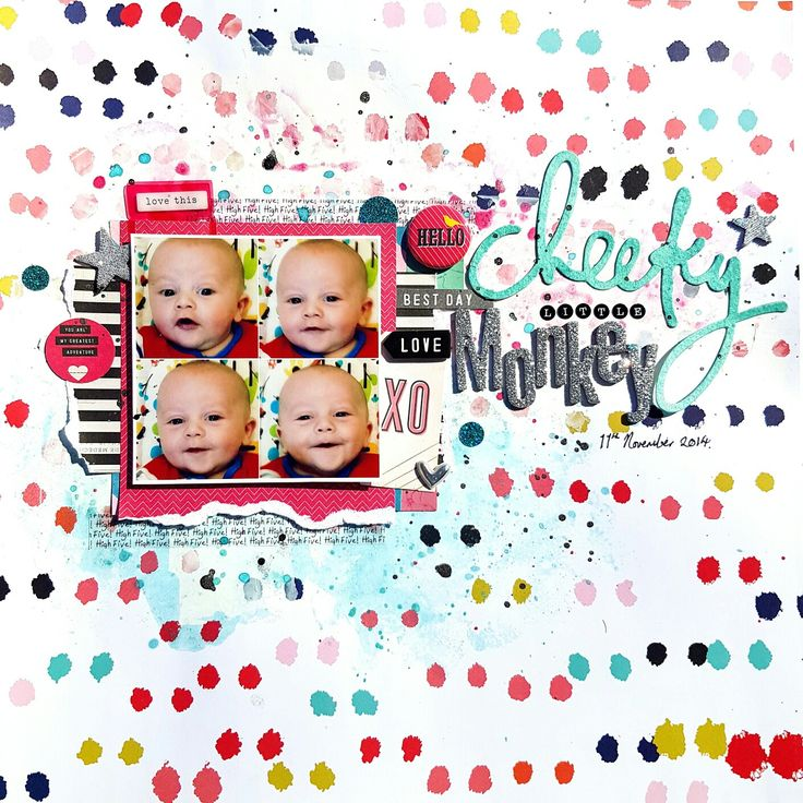 Layout using the December 2015 Hip Kit  ManxyCatCrafts