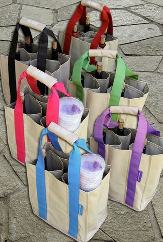 Monogrammed Wine Tote. For wine festival purchases!?
