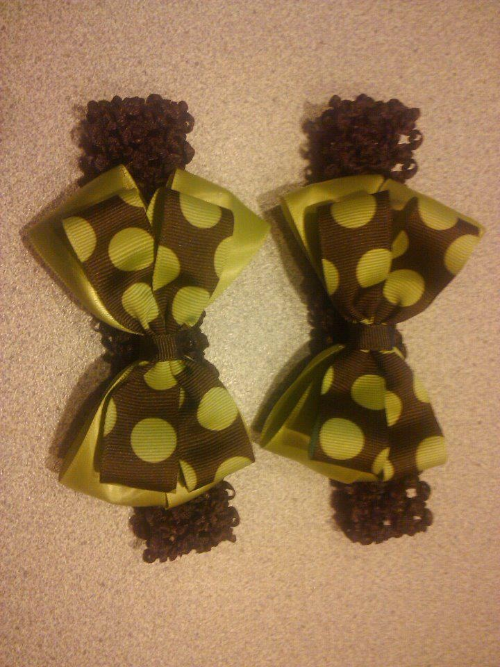 Headband with bow....$8 each!!!  https://www.facebook.com/pages/Tutu-Cute/171729329580274