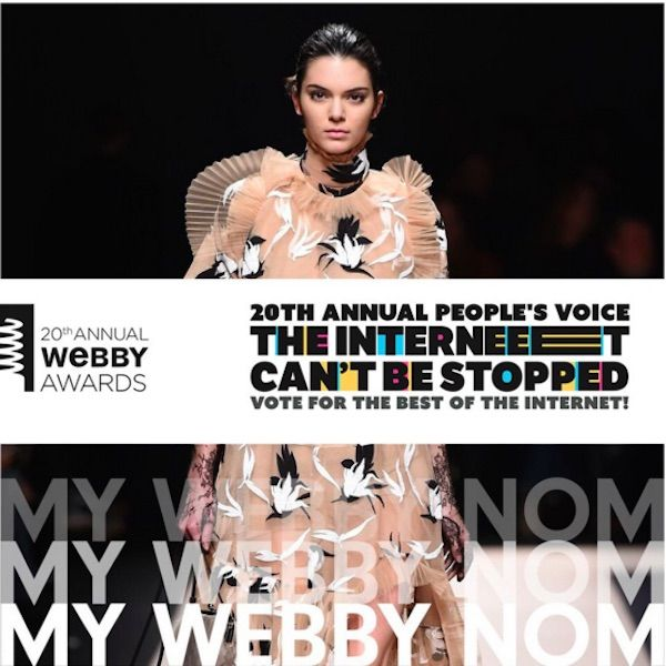 The Webby Awards Could Bring Kendall Jenner And Harry Styles Together Again - http://oceanup.com/2016/04/06/the-webby-awards-could-bring-kendall-jenner-and-harry-styles-together-again/