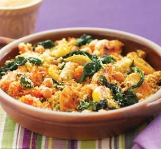 Chicken and honey couscous