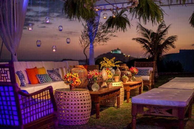 Lounge - Casamento na praia - Foto Alexandre Fontenelle
