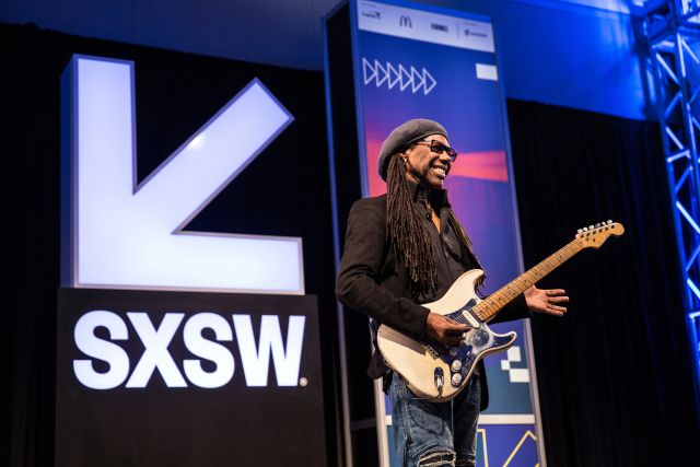 """The music business has changed but the funky party people are still here,"" guitarist and super producer Nile Rodgers said at the end of a whirlwind career montage video at the top of his keynote address Wednesday morning.  The 64-year-old artist who has worked with everyone from David Bowie to... http://garageshark.com/sxsw-2017-nile-rodgers-talks-acid-trips-and-the-power-of-pop/"