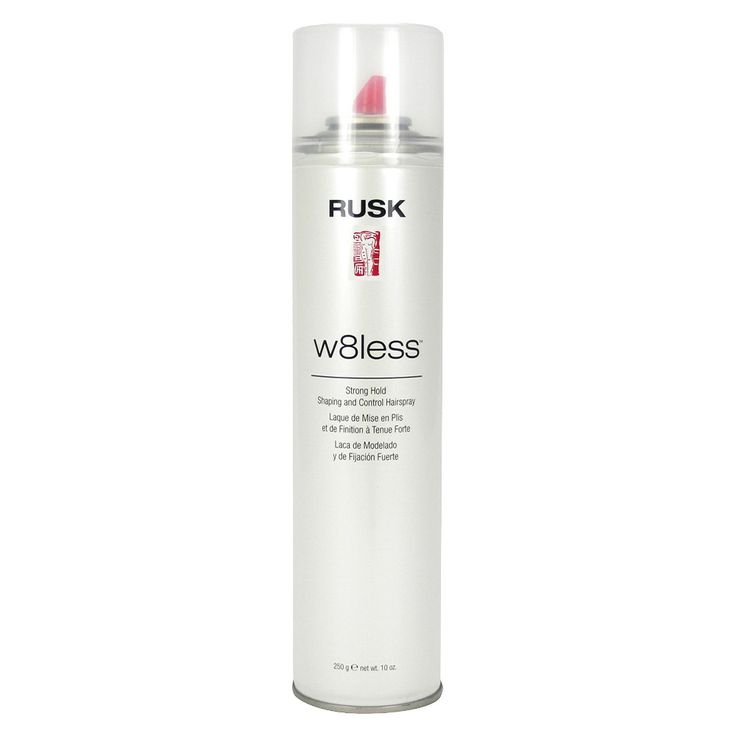 Rusk W8less Plus Strong Hold Shaping and Control Hairspray - 10oz
