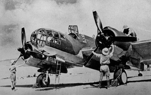 AUG 1 1941 RAF bombers intensify attacks on Libya The American Glen Martin Maryland bomber now in service with the RAF in Egypt.