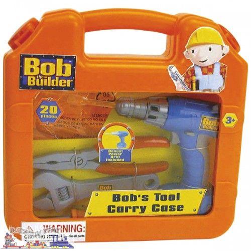 Bob de Bouwer Gereedschapskoffer met Boormachine art nr 65321