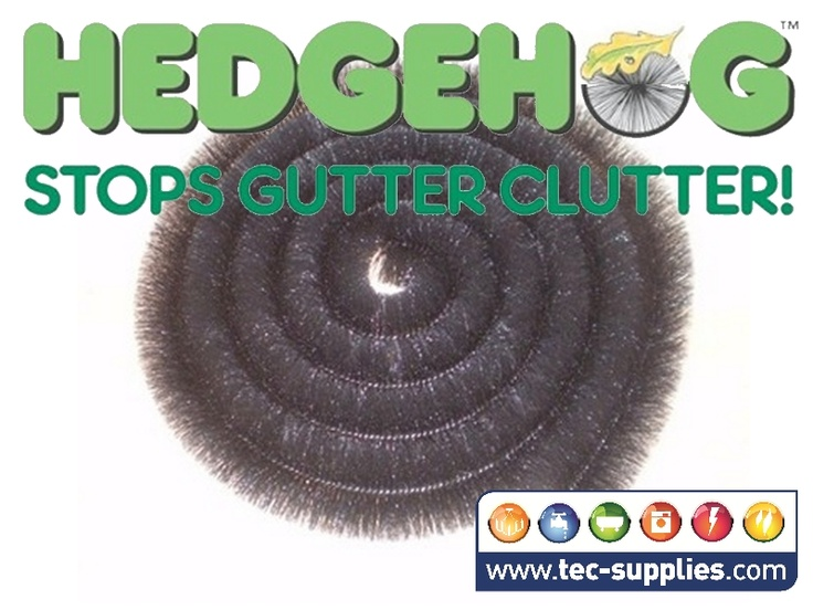 4m hedgehog gutter brush keep your gutters clear use the hedgehog all year - Gutter Brush
