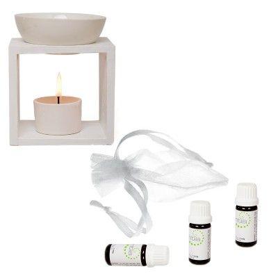 Sensual Selection - Essential Oils & Burner