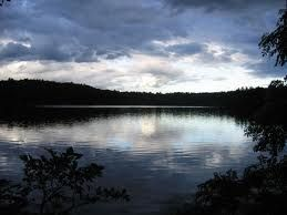 Location of an almost kiss... Walden pond - Google Search