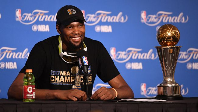 Kevin Durant Wasn't Emotional After Winning The Finals Because 'It Was Strictly Basketball' - UPROXX