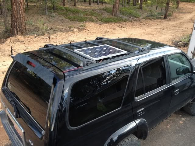 Anyone Mount A Solar Panel To Roof Rack Page 2 Toyota