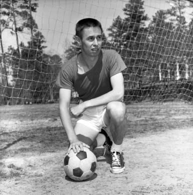 Atlanta Chiefs soccer coach Phillip Woosnam, 1967. AJCN154-059a, Atlanta Journal-Constitution Photographic Archives. Special Collections and Archives, Georgia State University Library.