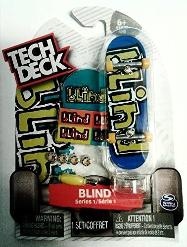 Tech Deck Series 1 Rare BLIND Skateboard with Stickers