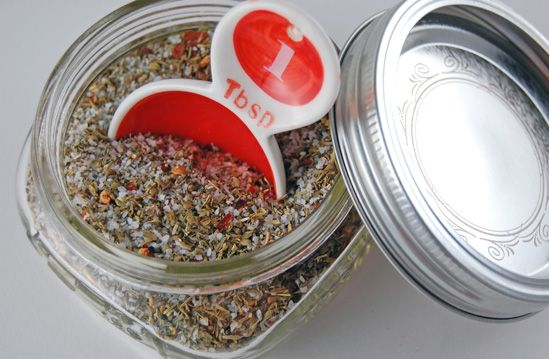 More No Bake, No Cook, No Time Gifts - Homemade Seasoned Salt and Italian Herb Salt - Eat at Home